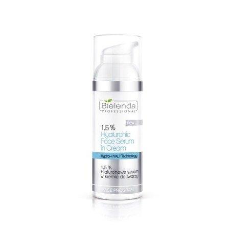 Bielenda 1,5% Hialuronowe serum w kremie do twarzy 50 ml