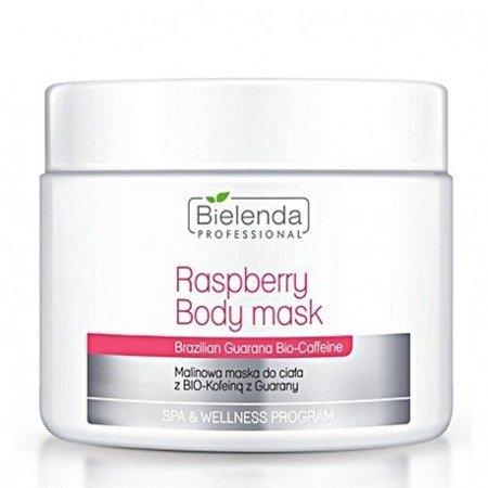 Bielenda Malinowa maska do ciała z bio-kofeiną 600 g