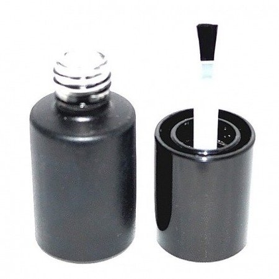 Buteleczka lakierówka czarna 10 ml 480 sztuk