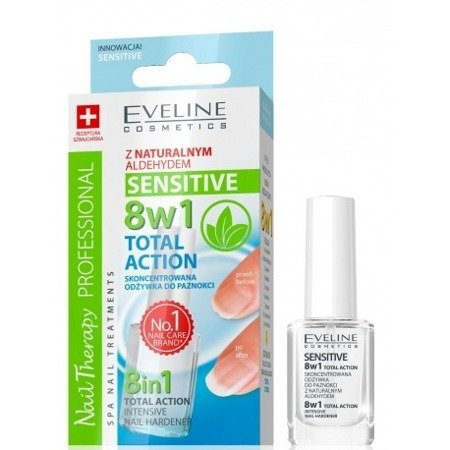 Eveline 8w1 Sensitive Odżywka 12 ml