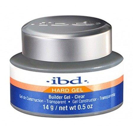 IBD Hard Gel Builder Żel budujący 14 g Clear