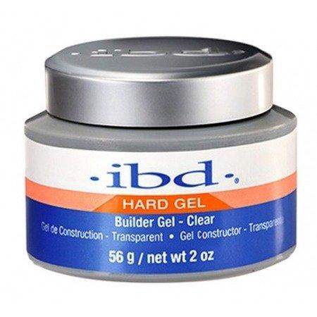 IBD Hard Gel Builder Żel budujący 56 g Clear