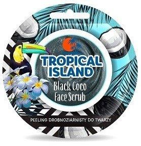 MARION TROPICAL ISLAND Black Coco Peeling drobnoziarnisty do twarzy 8G