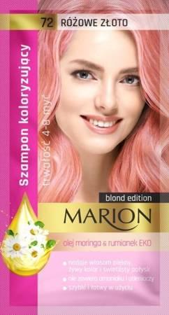 Marion szampon koloryzujący 72 Różowe złoto 40ml