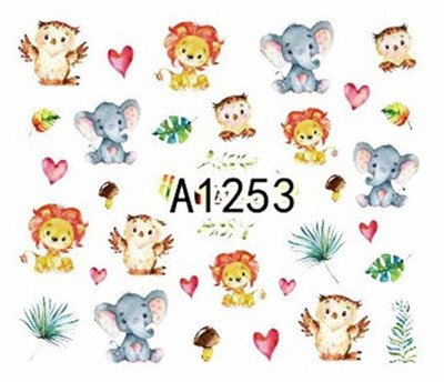 Naklejki wodne A1253