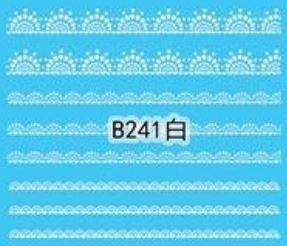 Naklejki wodne B241
