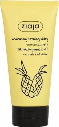 Ziaja ananasowy energetyzujący żel pod prysznic szampon 2w1 160 ml