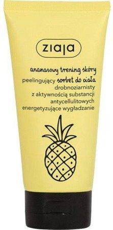 Ziaja peelingujący sorbet do ciała ananasowy 160 ml